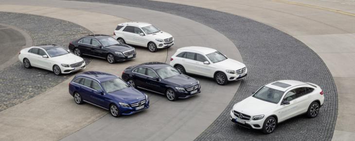 Mercedes Benz cae en picado