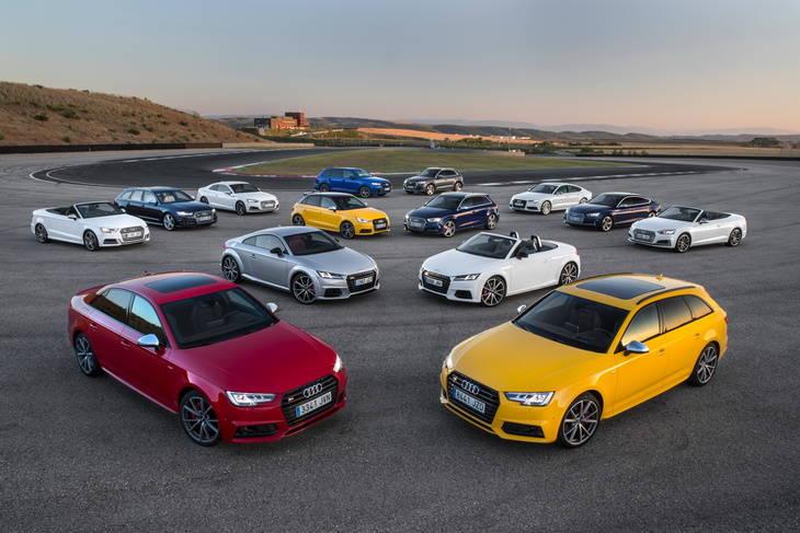 Probamos la gama S de Audi, la marca más deportiva del mercado