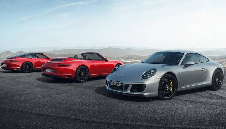 Nuevos Porsche 911 GTS más deportivos y eficientes