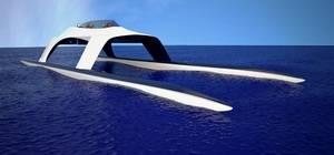 Descubre el barco que surca los mares a 100Km/h