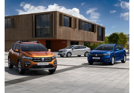 Nuevos Dacia Sandero, Sandero Stepway y Logan, la