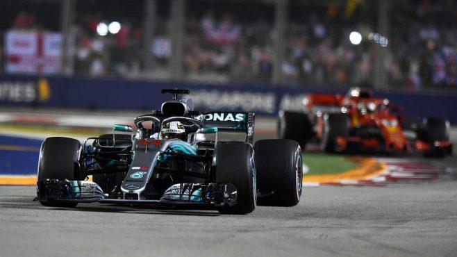 GP de Singapur F1: Hamilton gana en la carrera más aburrida de la temporada