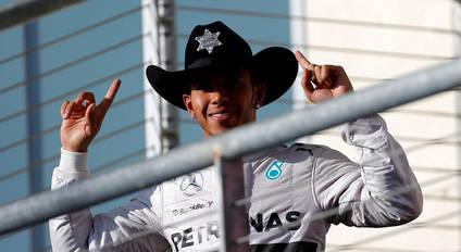 Lewis Hamilton, a dos carreras del Título Mundial