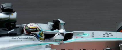 Hamilton y Rosberg, sin comentarios en el G.P. de Japón