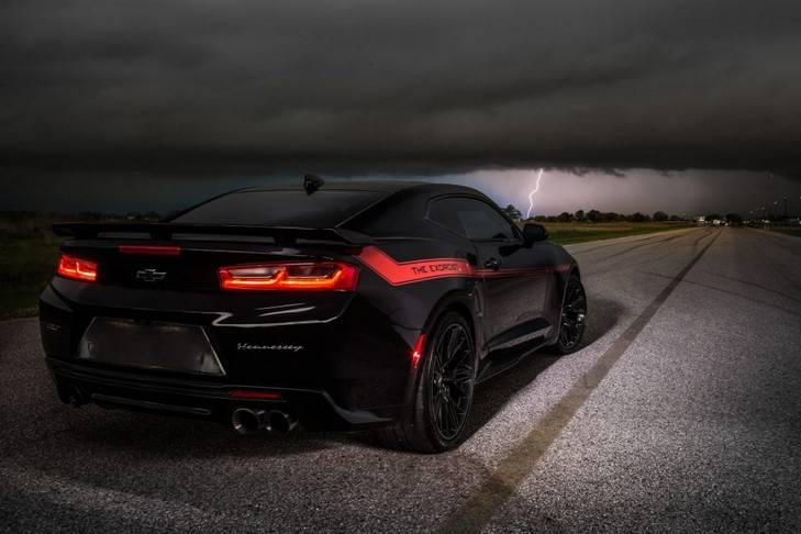 Hennessey Camaro ZL1, 'The Exorcist', eterno rival de Dodge Challenger Demon