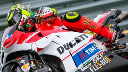 Andrea Iannone, el más rápido en MotoGP