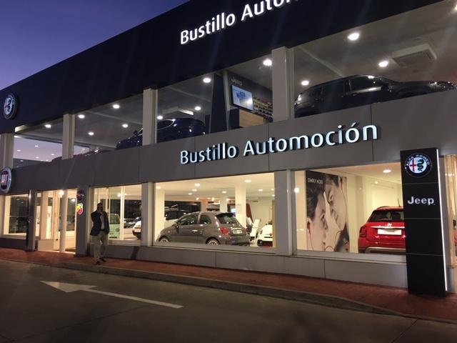 Bustillo Automoción, concesionario Jeep, Fiat y Alfa