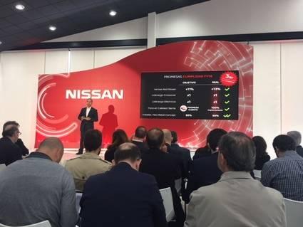 Nissan en la euforia comercial