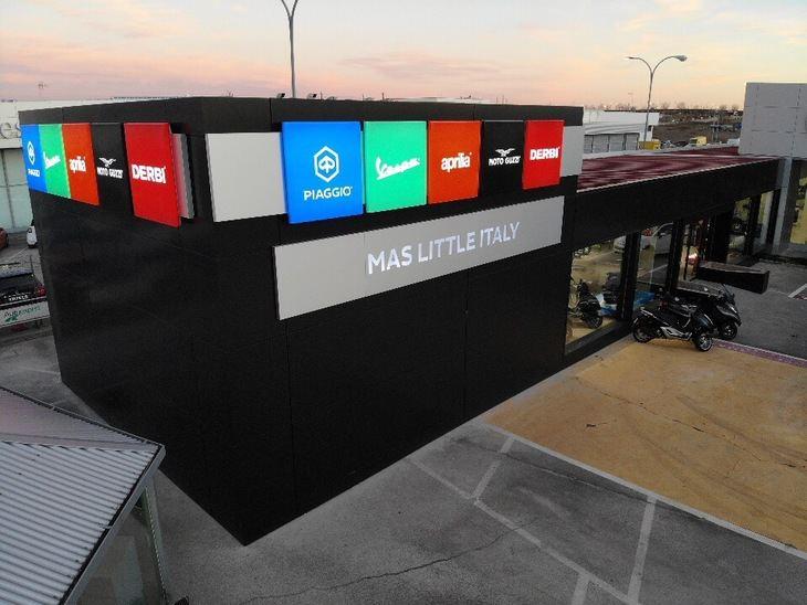 'Mas Little Italy' nuevo concesionario del Grupo Piaggio