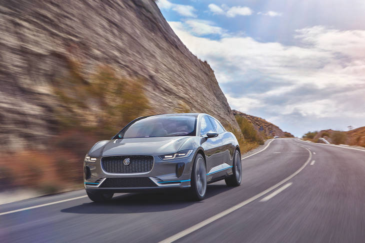 Jaguar I-Pace Concept, el primer eléctrico de la marca