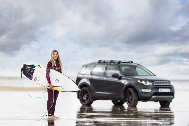 La tabla de Surf de Jaguar Land Rover