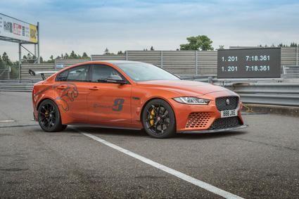 El Jaguar XE SV Project 8 bate su propio récord