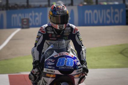 Carreron de Jorge Martín en Moto3