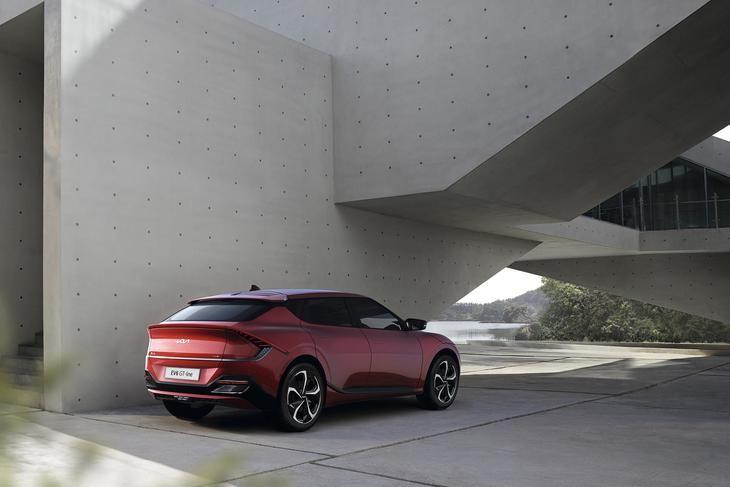 Kia EV6 símbolo de la nueva marca de Kia