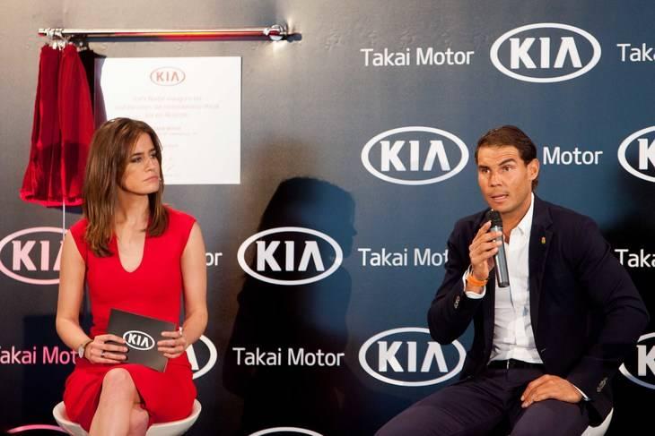 Rafa Nadal y su Kia Sportage