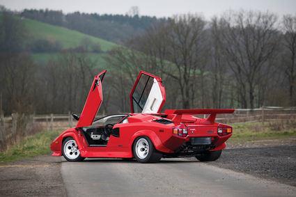 Se subasta un Lamborghini Countach LP500 S de 1984