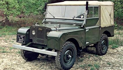 El Land Rover para el público civil
