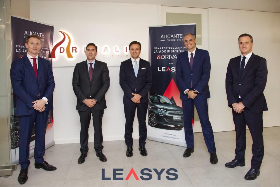 Leasys, filial de FCA Bank, adquiere Drivalia Car Rental