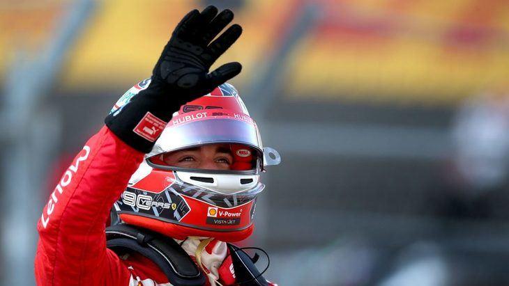 GP de Azerbaiyán F1: Leclerc hace el mejor tiempo