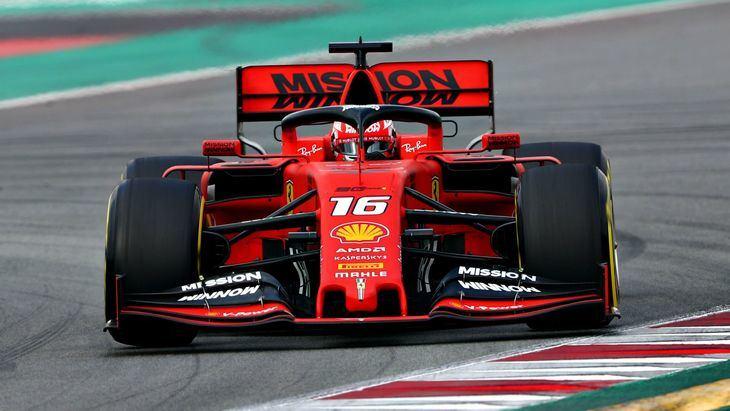Leclerc es el primero en bajar a 1.16