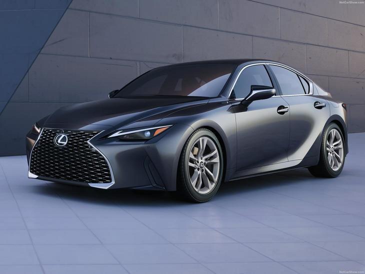 Lexus IS 2021 totalmente renovado