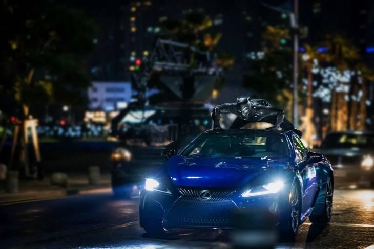 El nuevo Lexus LC aparecerá en la película de 'Black Panther'