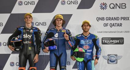 Joe Roberts (Moto2) y Tatsuki Suzuki (Moto3), Mejores tiempos de parrilla