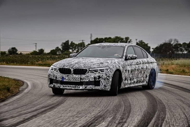 El nuevo M5 tendra un modo drift