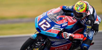 Marco Bezzecchi, gana en Moto3