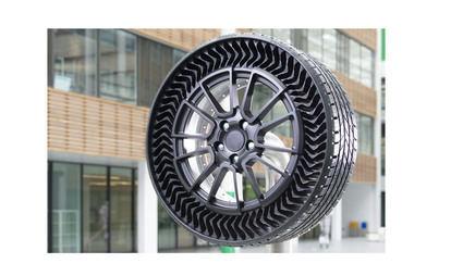 Michelin Uptis, el neumático sin aire