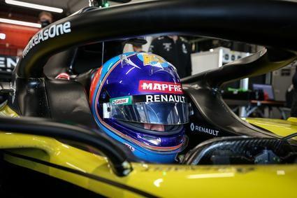 Fernando Alonso debuta con el Renault