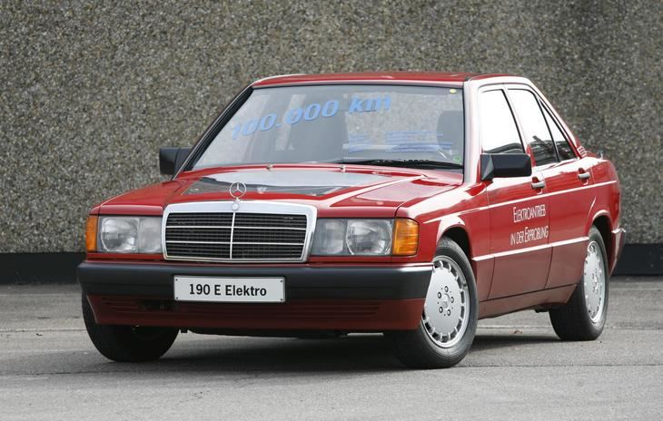 Mercedes-Benz 190 eléctrico de 1990