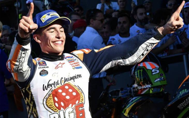 Marc Márquez, seis títulos con 24 años