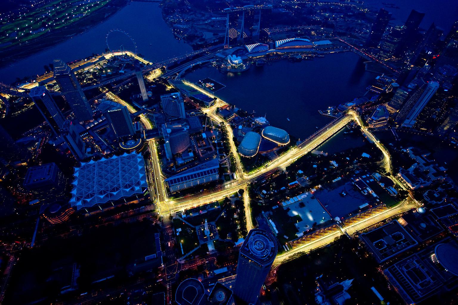 Resultat d'imatges de circuito singapur