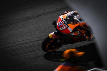 Marquez, Viñales y Dovizioso, en primera fila de MotoGP