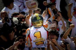 Marc Márquez, Campeón del Mundo