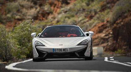 Probamos el nuevo McLaren 570GT