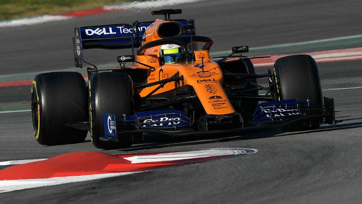 McLaren, con Lando Norris, quiso ser el más rápido