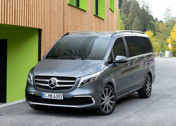 Mercedes Benz Clase V, más atractivo