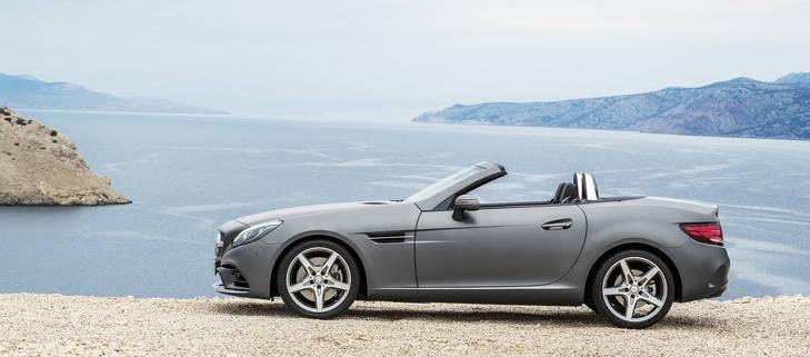 El Mercedes-Benz SLC desde 45.250€