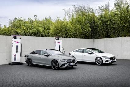 Mercedes EQE, electricidad premium