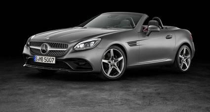 El Mercedes SLK ahora se llama SLC