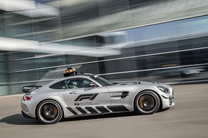 Mercedes-AMG GT R, el nuevo Safety Car de la Formula 1