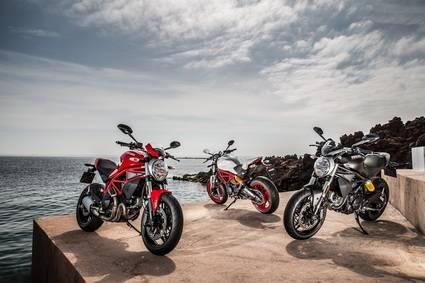 Gama Ducati y Ducati Scrambler A2 ya disponibles