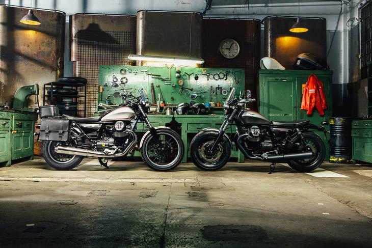 Nueva gama de motocicletas