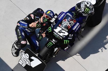 Viñales pole y récord del circuito en el Gran Premio de San Marino