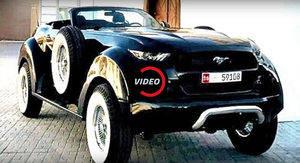 Ford Mustang personalizado