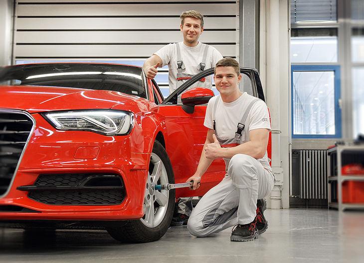 Audi ahorra 108,6 millones de euros