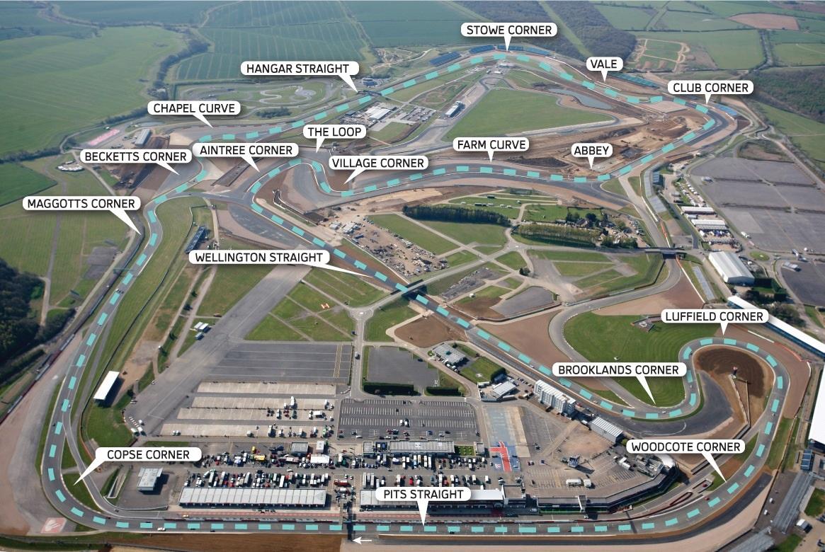Circuito De Silverstone : Circuito de silverstone revista de coches