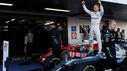 Cuarta victoria de Rosberg en la temporada